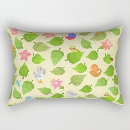 birds&leaves Rectangular Pillow