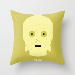 OH MY! Throw Pillow