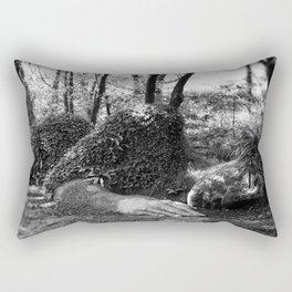 Heligan giant in monochrome Rectangular Pillow