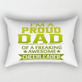 I'M A PROUD CHEERLEADER's DAD Rectangular Pillow