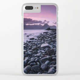 Sunset at Elgol Clear iPhone Case