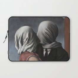 The Lovers II (Les Amants) 1928, Artwork Rene Magritte For Prints, Posters, Shirts, Bags Men Women K Laptop Sleeve