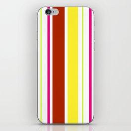 Stripes in colour 4 iPhone Skin