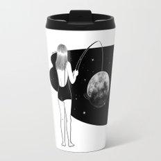 I just got mooned Travel Mug