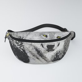 WINTER WOLF Fanny Pack