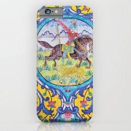 Iranian tiles iPhone Case