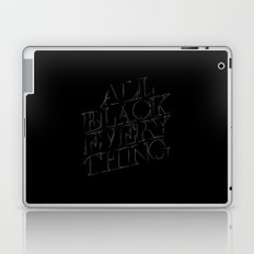 All Black Everything Laptop & iPad Skin