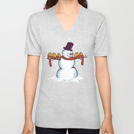 Sharing is caring (Winter edition) Unisex V-Neck