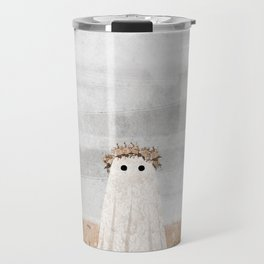 There's a Ghost in the Meadow Travel Mug
