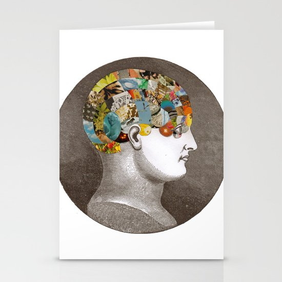 Phrenology Stationery Cards