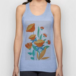 Summer Flowers I Unisex Tank Top