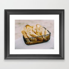 Bread Basket Framed Art Print
