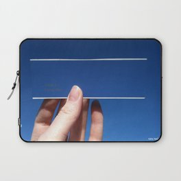 Blue is the Sky: Flying Fish Laptop Sleeve