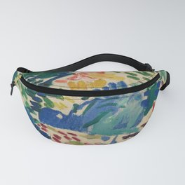 Landscape at Collioure - Henri Matisse - Exhibition Poster Fanny Pack