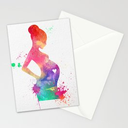 New Mom 009 Stationery Cards