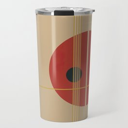 Geometric Abstract Art #3 Travel Mug