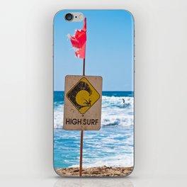 High Surf iPhone Skin