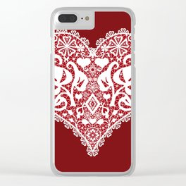 You . With Love . Clear iPhone Case