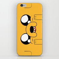 jake iPhone & iPod Skins featuring Adventure - Jake by Alessandro Aru