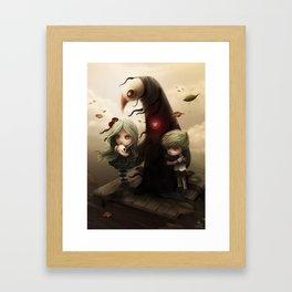 Everything Dies Framed Art Print