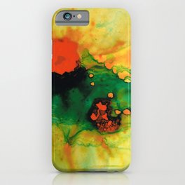 Jubilee - Abstract Art By Sharon Cummings iPhone Case