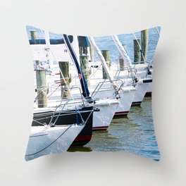 Morning in Annapolis III Throw Pillow