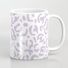Lavender Leopard Print Skin Purple Cheetah Cat Pattern Coffee Mug
