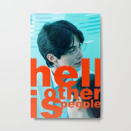 Artwork K-Drama Lee Dongwook Stranger From Hell Metal Print