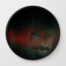 Vibrations of the Heart  Wall Clock