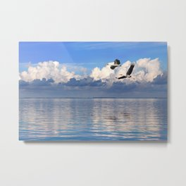 On The Wings Of The Wind Metal Print