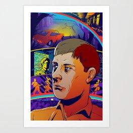 Ian Curtis No. 2 Art Print