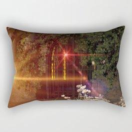 Old crypt Rectangular Pillow