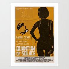 Quantum Of Solace Art Print