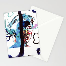 Listening to MUSIC                            by Kay Lipton Stationery Cards
