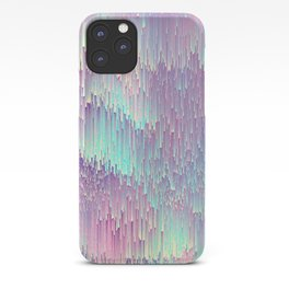 Iridescent Glitches iPhone Case