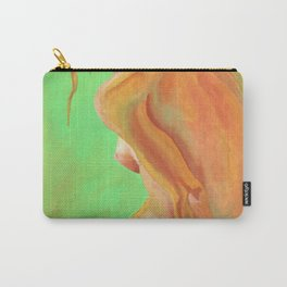 Young Beautiful Nude Woman At Dawn Carry-All Pouch