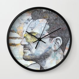 Bono - I Still Haven't Found What I'm Looking For Wall Clock