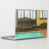 pool Laptop & iPad Skins featuring Pool by Theodore Parks