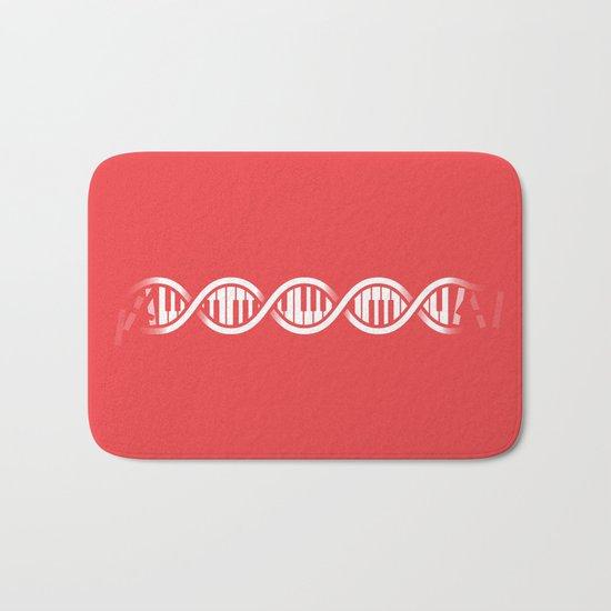 Musical DNA Bath Mat