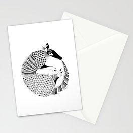 Possum on the Half Shell (Armadillo) Stationery Cards