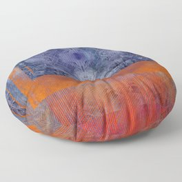 Fire and Ice Floor Pillow