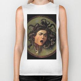 "Michelangelo Merisi da Caravaggio ""Medusa"" Biker Tank"