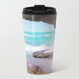 Sea Cave Metal Travel Mug