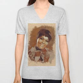 Dionne Warwick, Music Legend Unisex V-Neck