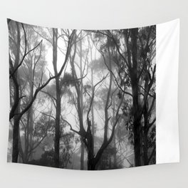 The Clearest Way into The Universe is Through a Forest Wilderness Wall Tapestry