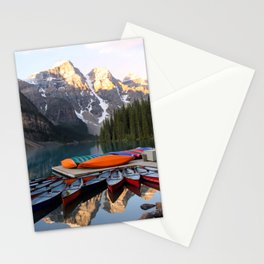 Reflections on the lake Stationery Cards
