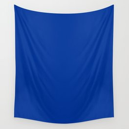 Dark Powder Blue - solid color Wall Tapestry