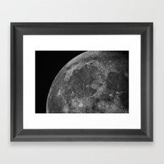 Moon 05 Framed Art Print
