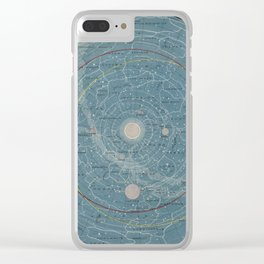 Planetary System. Eclipse of the Sun. The Moon. The Zodiacal Light. Meteoric Shower. Clear iPhone Case