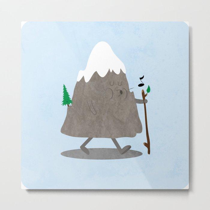 Lil' Hiker Metal Print